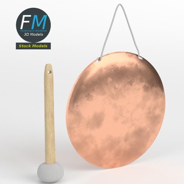 Chinese handheld gong