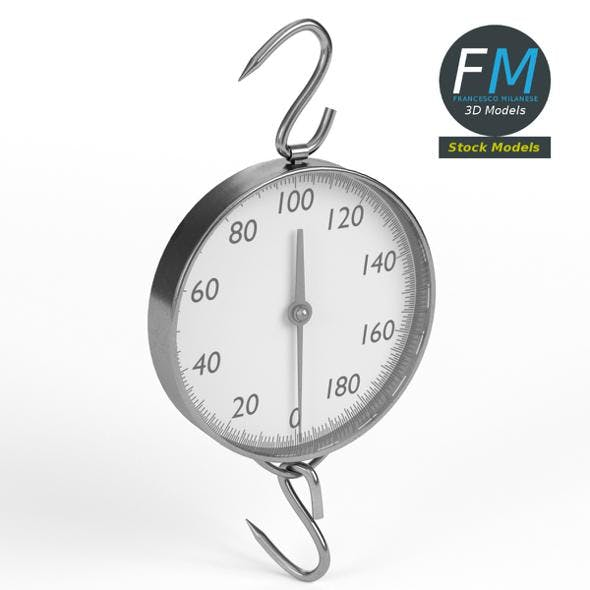 Hanging weighing scale - 3DOcean Item for Sale