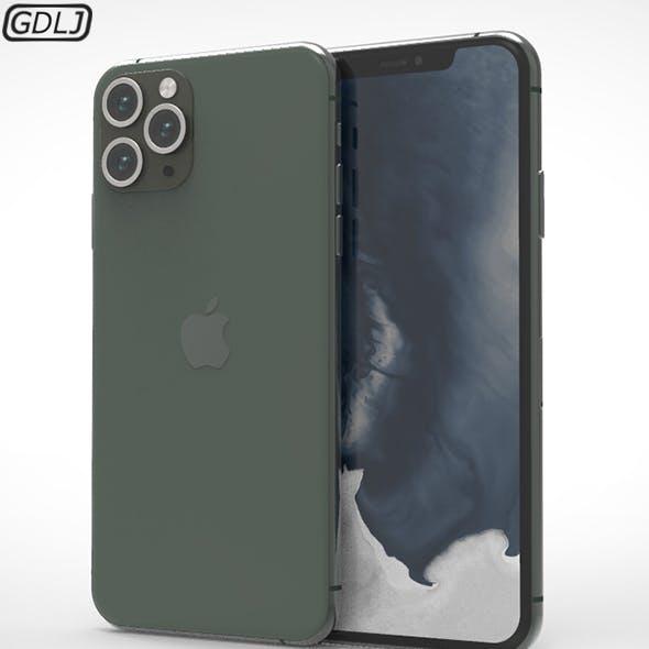 Apple iPhone 11 Pro Max 3D