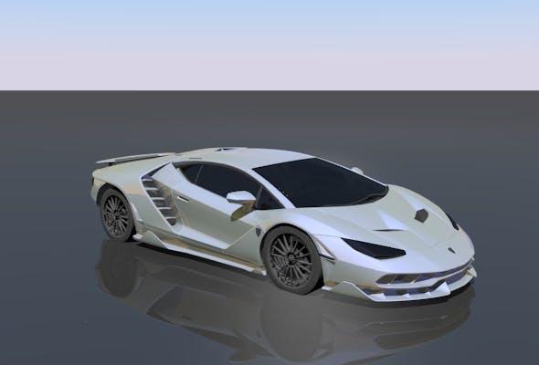 Lamborghini Centenario - 3DOcean Item for Sale