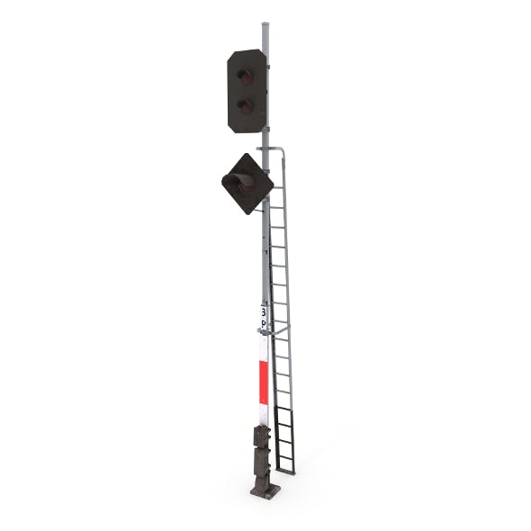 Train Traffic Light 15 - 3DOcean Item for Sale