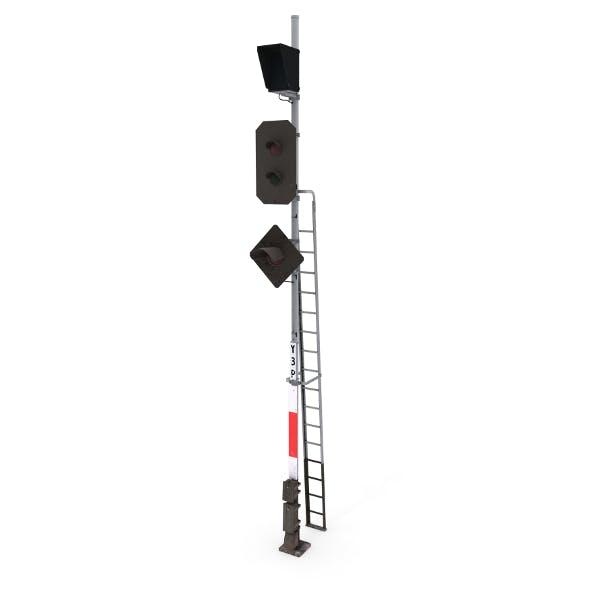 Train Traffic Light 20 - 3DOcean Item for Sale