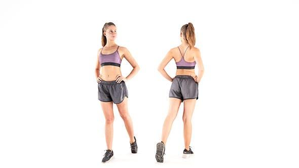 Woman sport 28 - 3DOcean Item for Sale