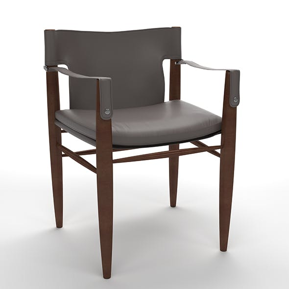 Saddle Chair - 3DOcean Item for Sale