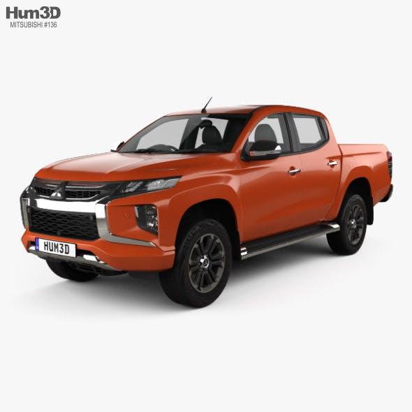 Mitsubishi Triton Double Cab 2019 - 3DOcean Item for Sale