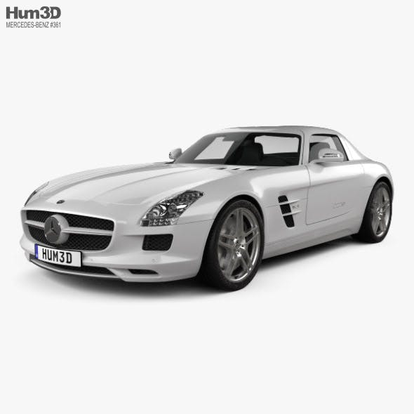 Mercedes-Benz SLS-class with HQ interior 2011 - 3DOcean Item for Sale