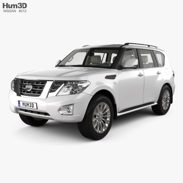 Nissan Patrol CIS-spec with HQ interior 2014