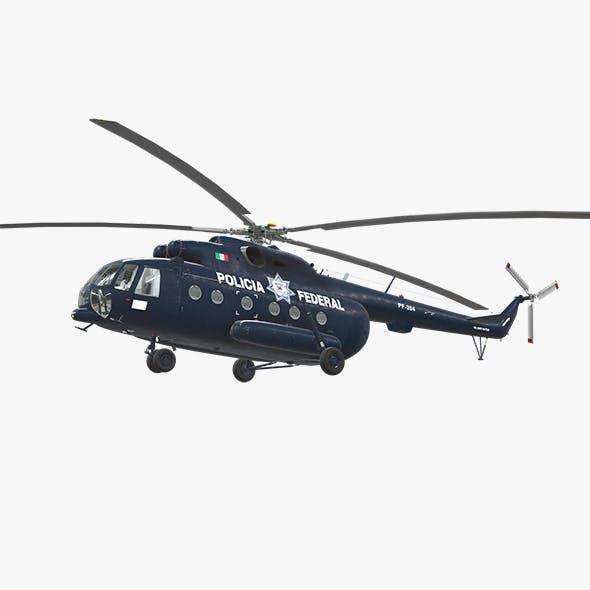Mi-17 Mexican Police