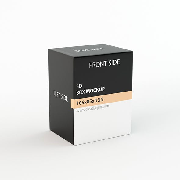 Low Poly Product box 06 - 3DOcean Item for Sale