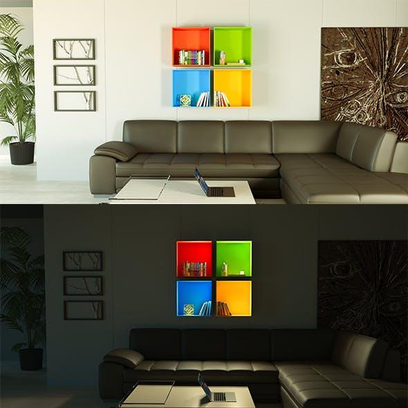 Microsoft Windows BookShelf - 3DOcean Item for Sale