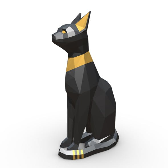 Egypt Cat Figure