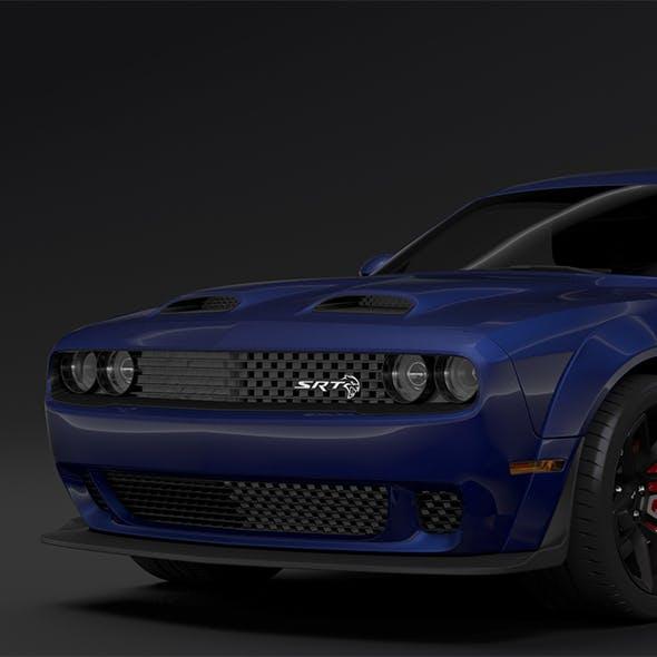 Dodge Challenger SRT Hellcat Widebody LC 2019 - 3DOcean Item for Sale