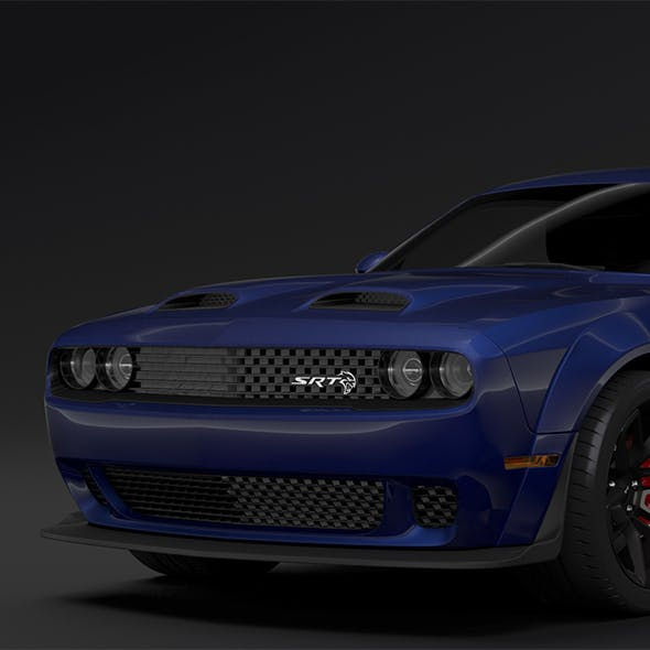 Dodge Challenger SRT Hellcat Widebody LC 2019