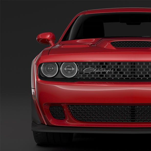 Dodge Challenger RT Scat Pack Widebody LC 2019