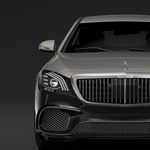 Mercedes AMG Maybach S 65 Pullman VV222 2019 - 3DOcean Item for Sale