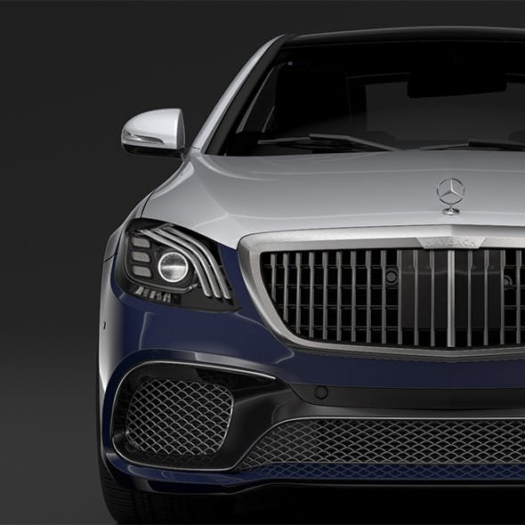 Mercedes AMG Maybach S 65 X222 2019 - 3DOcean Item for Sale