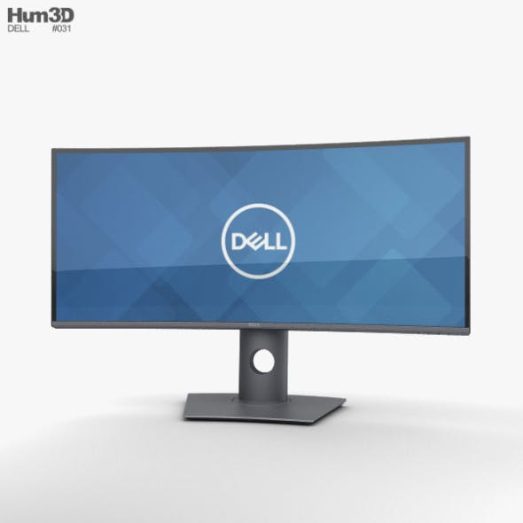Dell 34-inch Curved Monitor U3419W - 3DOcean Item for Sale