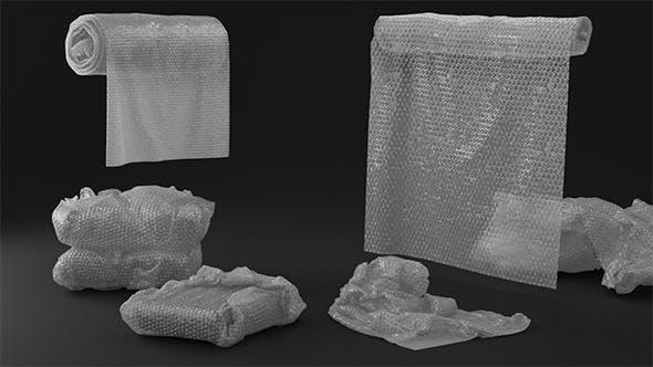 Bubble Wrap Objects - 3DOcean Item for Sale