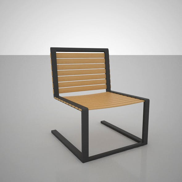 Outdoor Chair - 3DOcean Item for Sale