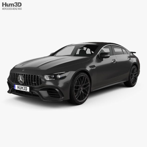 Mercedes-Benz AMG GT63 S 4-door coupe 2019 - 3DOcean Item for Sale