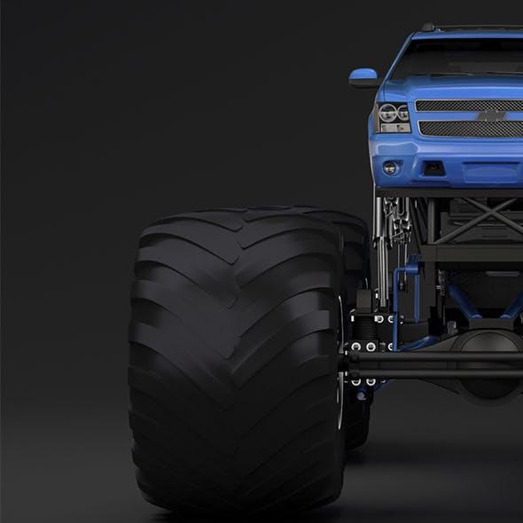 Monster Truck Chevrolet Suburban