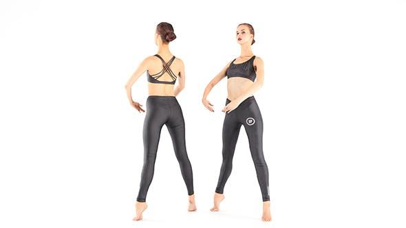 Ballet dancer 30 - 3DOcean Item for Sale