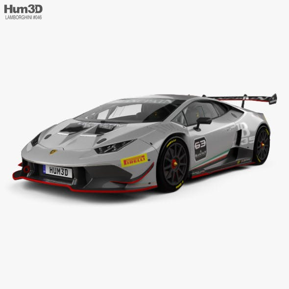 Lamborghini Huracan Super Trofeo with HQ interior 2014