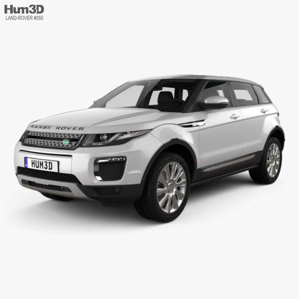 Land Rover Range Rover Evoque SE 5-door with HQ interior 2015