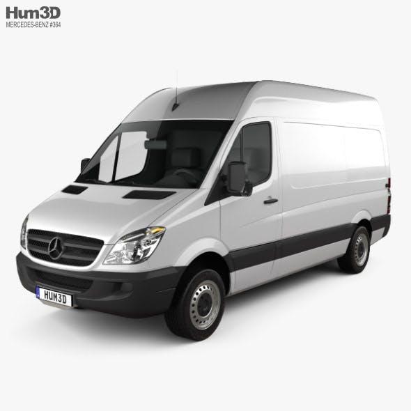 Mercedes-Benz Sprinter Panel Van SWB HR 2006 - 3DOcean Item for Sale