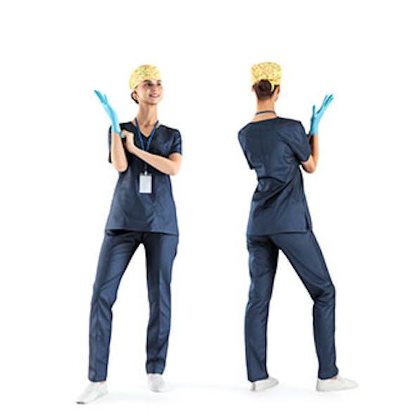 Female surgical nurse 22