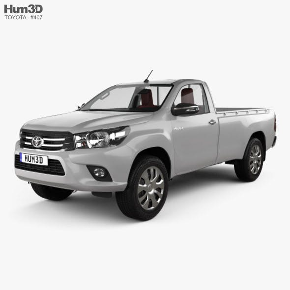Toyota Hilux Single Cab GLX with HQ interior 2015 - 3DOcean Item for Sale