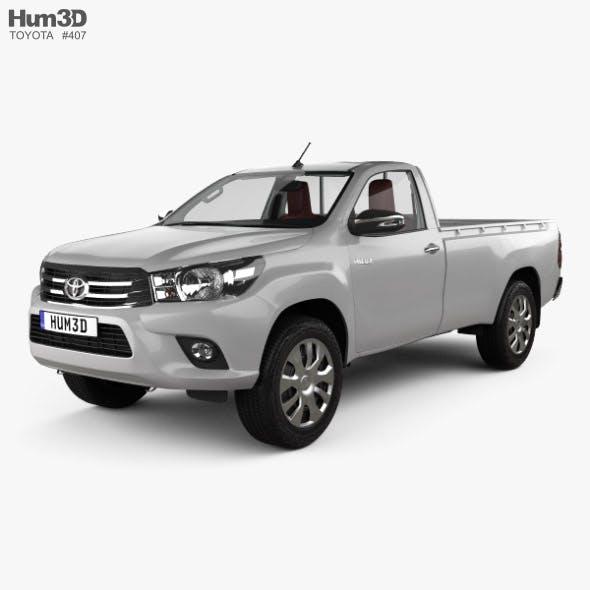 Toyota Hilux Single Cab GLX with HQ interior 2015