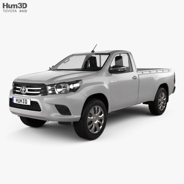 Toyota Hilux Single Cab SR with HQ interior 2015 - 3DOcean Item for Sale