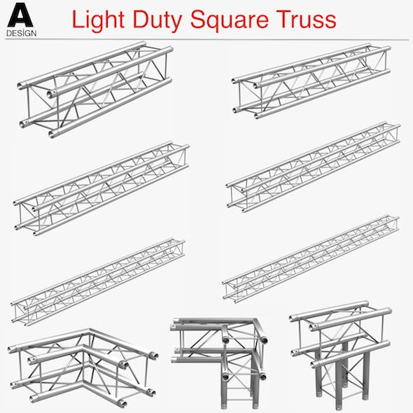 Light Duty Square Truss Collection - 9 PCS Modular