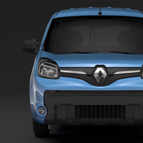 Renault Kangoo Combi L2 2017 - 3DOcean Item for Sale