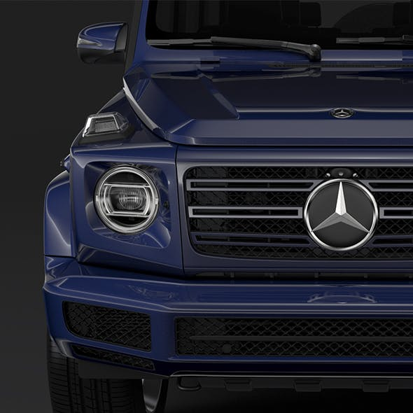Mercedes Benz G 350d W464 2019 - 3DOcean Item for Sale