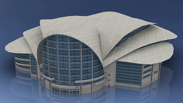 Hong Kong Convention and Exhibition Centre - 3DOcean Item for Sale