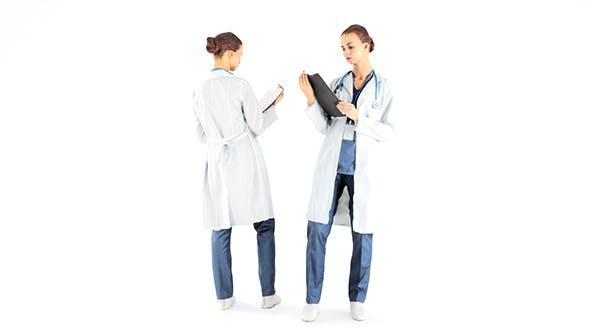 Female doctor 36 - 3DOcean Item for Sale