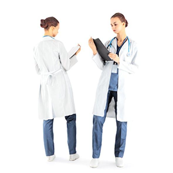 Female doctor 36
