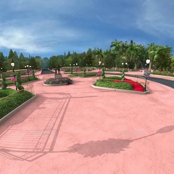 6 Theme Park Castle HDRI