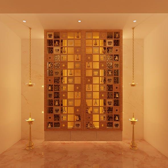 Realistic Pooja Room 218