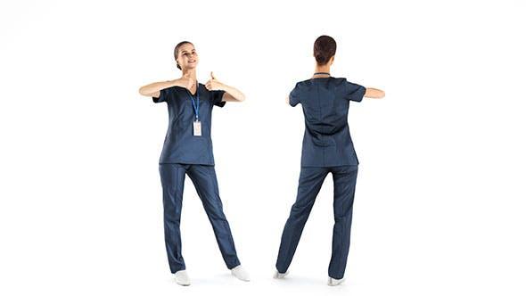 Medical nurse 39 - 3DOcean Item for Sale