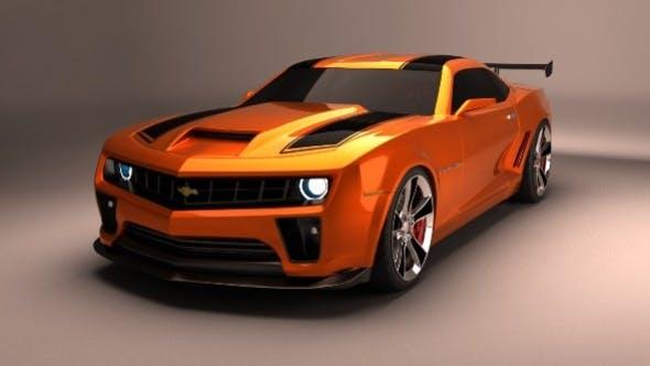 Camaro Transformers 2 - 3DOcean Item for Sale