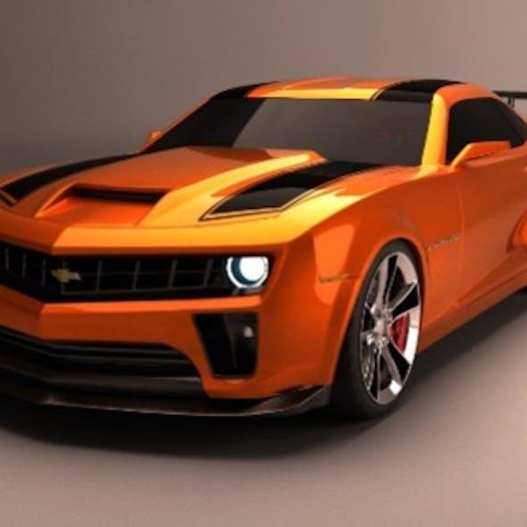 Camaro Transformers 2
