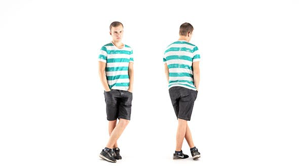 Man casual style 08 - 3DOcean Item for Sale