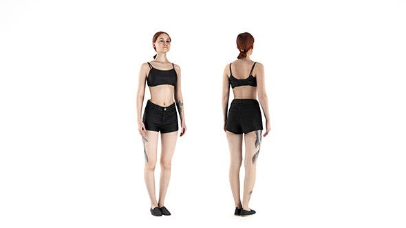 Woman sport 42 - 3DOcean Item for Sale