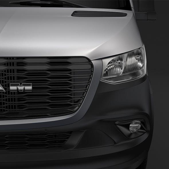 RAM Sprinter Panel Van L4H2 RWD 2019 - 3DOcean Item for Sale