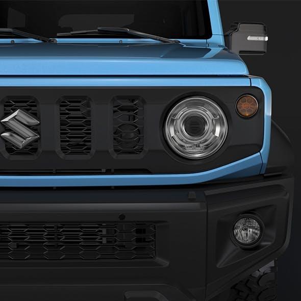 Suzuki Jimny Sierra JC 2019 - 3DOcean Item for Sale