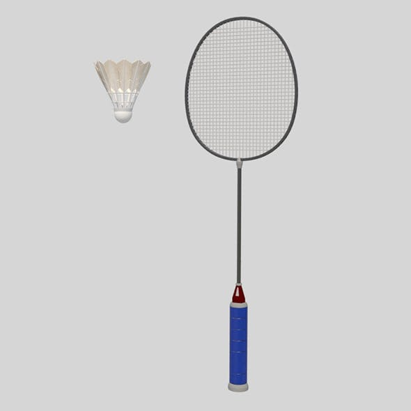 Badminton_Set - 3DOcean Item for Sale