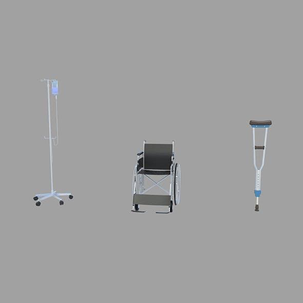 Medical Equipment - 3DOcean Item for Sale